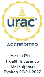 CommunityCare HMO URAC accrediation seal